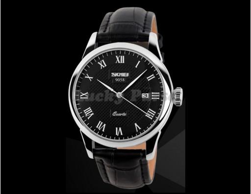 Мужские часы Skmei 9058 (стальной)