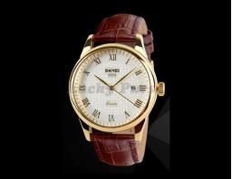 Мужские часы Skmei 9058 (золотой)