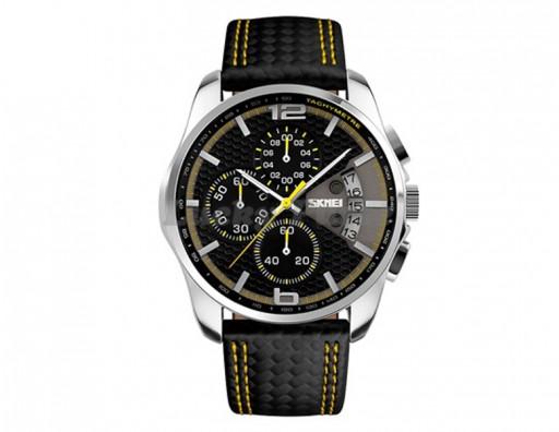 Мужские часы Skmei 9106 (желтый)
