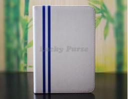 Чехол для iPad mini 3/2/1 из искусственной кожи (белый)