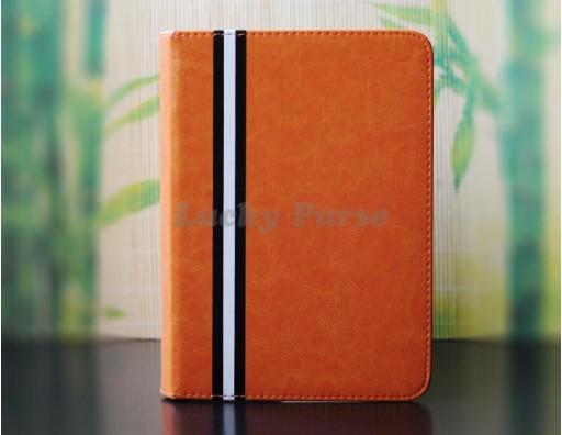 Чехол-книжка для iPad Mini 3/2/1 с цветной полоской