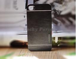 Чехол-бампер для iPhone 4/4S motomo (черный)