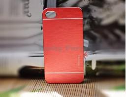 Чехол-бампер для iPhone 4/4S motomo (красный)