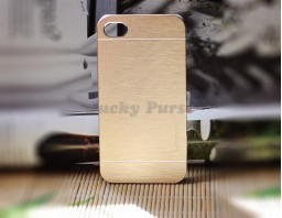 Чехол-бампер для iPhone 4/4S motomo (золотой)
