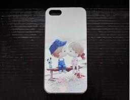 """Чехол-бампер для iPhone 5S/5 """"Влюбленная парочка"""""""