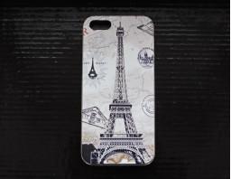 "Чехол-бампер для iPhone 5S/5 ""Эйфелева Башня"""