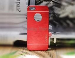 Чехол-бампер для iPhone 5S/5 motomo (красный)