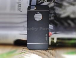 Чехол-бампер для iPhone 5S/5 motomo (темно-серый)