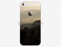 Чехол для iPhone 5S/5 Misty mountains