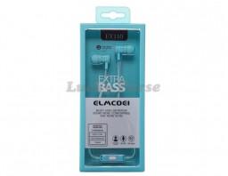 Наушники с микрофоном ELMCOEI EV110 (голубой)