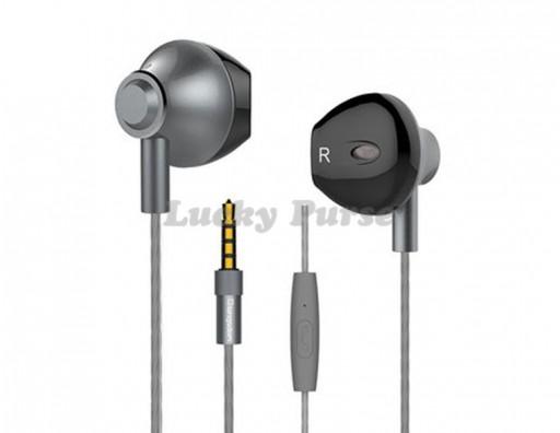 Наушники Langsdom M300 с микрофоном 3.5мм (черный)