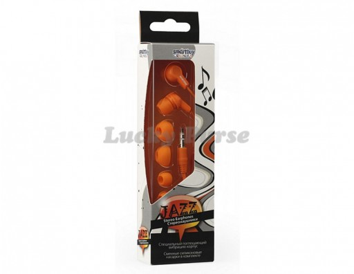 Наушники 3.5 мм Smartbuy JAZZ (оранжевый)