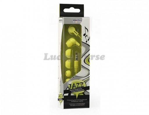 Наушники 3.5 мм Smartbuy JAZZ (желтый)