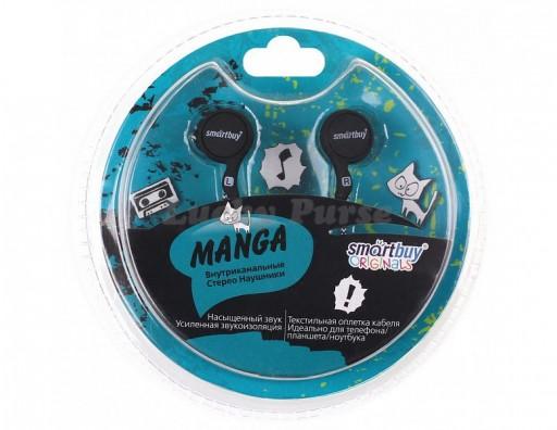 Наушники 3.5 мм Smartbuy MANGA (черный)