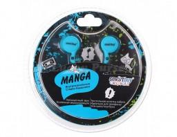 Наушники 3.5 мм Smartbuy MANGA (синий)