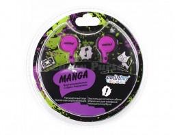 Наушники 3.5 мм Smartbuy MANGA (фиолетовый)