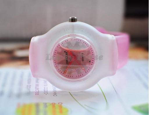 Детские часы Willis 9992 с жидкостью (розовый)
