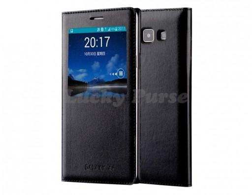 S-View чехол-книжка для Samsung Galaxy A3 (черный)