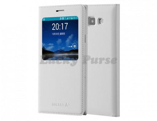 S-View чехол-книжка для Samsung Galaxy A3 (белый)