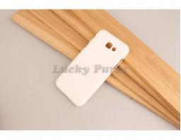 Чехол накладка для Samsung Galaxy A3 2017 (белый)