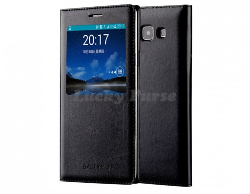 S-View чехол-книжка для Samsung Galaxy A5 (черный)