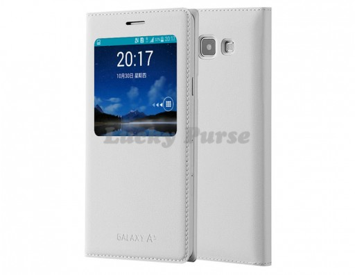 S-View чехол-книжка для Samsung Galaxy A5 (белый)