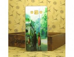 """Чехол-бампер для Samsung Galaxy A7 """"Pair"""""""