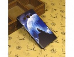"""Чехол-бампер для Samsung Galaxy A7 """"Lone wolf"""""""