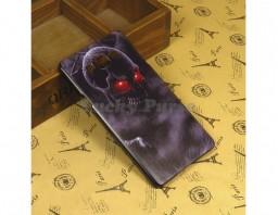 "Чехол-бампер для Samsung Galaxy A7 ""Skull"""