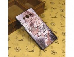 "Чехол-бампер для Samsung Galaxy A7 ""Tiger"""