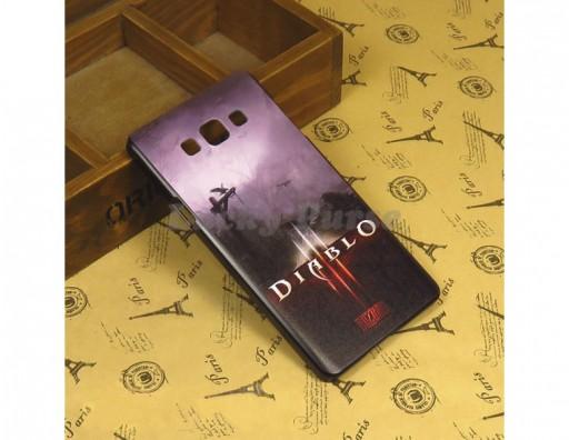 """Бампер для Samsung Galaxy A7 c принтом """"Diablo 3"""""""