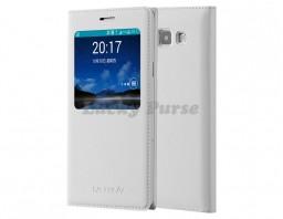 Чехол-книжка для Samsung Galaxy A7 (белый)