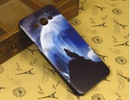 """Чехол-бампер для Samsung Galaxy A8 """"Lone wolf"""""""