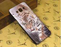 "Чехол-бампер для Samsung Galaxy A8 ""Tiger"""
