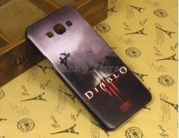 "Чехол-бампер для Samsung Galaxy A8 ""Diablo 3"""
