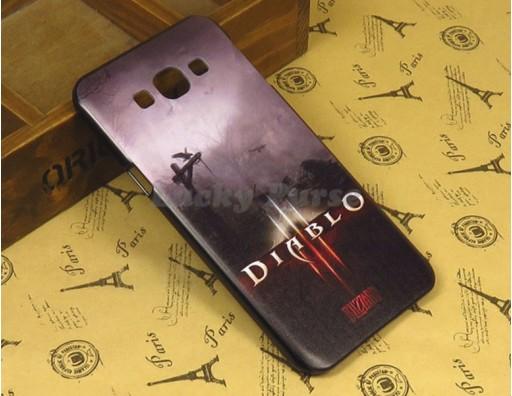 """Бампер для Samsung Galaxy A8 c принтом """"Diablo 3"""""""