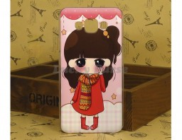 "Чехол для Samsung Galaxy E7 Duos ""Anime girl"""