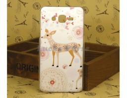 "Чехол для Samsung Galaxy J7 ""Deer"""