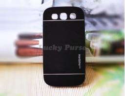 Чехол-бампер для Galaxy S3 I9300 motomo (черный)