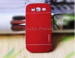 Чехол-бампер для Galaxy S3 I9300 motomo (красный)