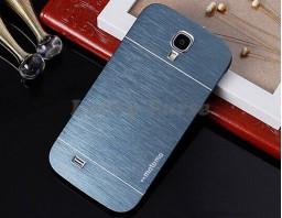 Бампер для Samsung Galaxy S4 motomo. Цвет графит.
