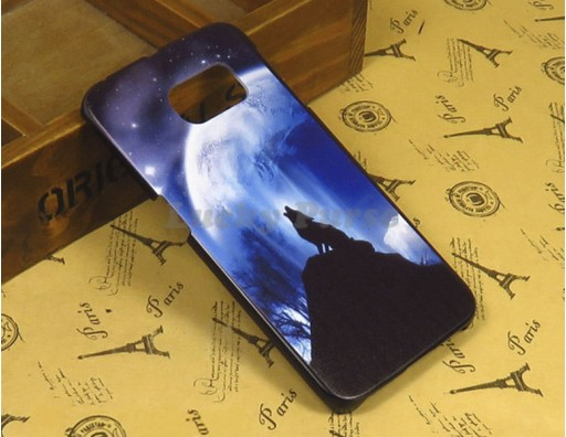 "Чехол для Samsung Galaxy S6 Edge ""Одинокий волк"""