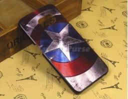 "Чехол-бампер для Galaxy S6 Edge ""Captain America"""