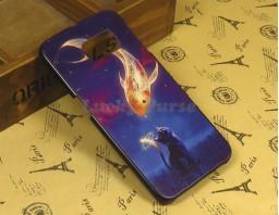 "Чехол-бампер для Galaxy S6 Edge ""Gold fish"""
