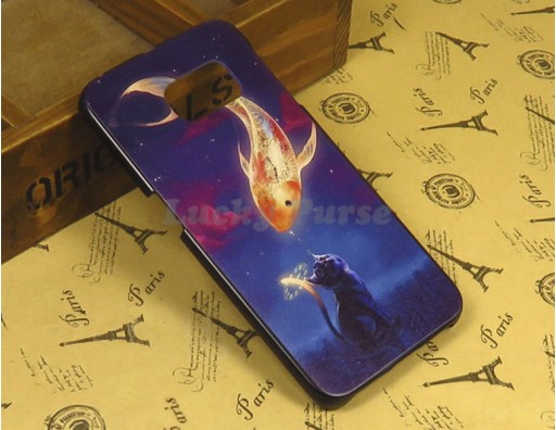 "Чехол для Samsung Galaxy S6 Edge ""Золотая рыбка"""