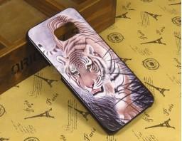 "Чехол-бампер для Galaxy S6 Edge ""Tiger"""