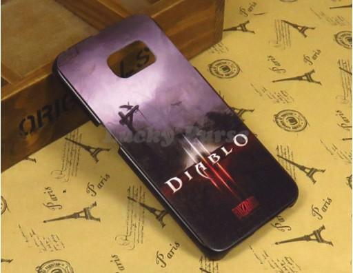 "Чехол для Samsung Galaxy S6 Edge ""Diablo 3"""