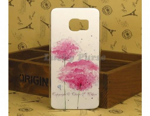 "Чехол для Samsung Galaxy S6 Edge ""Розовые цветы"""