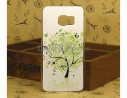 "Чехол-бампер для Galaxy S6 Edge ""Tree"""