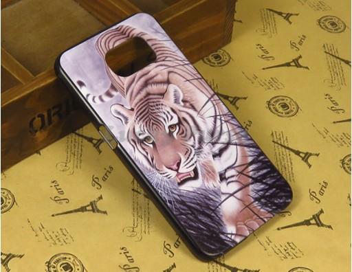 "Бампер для Samsung Galaxy S6 c принтом ""Тигр"""